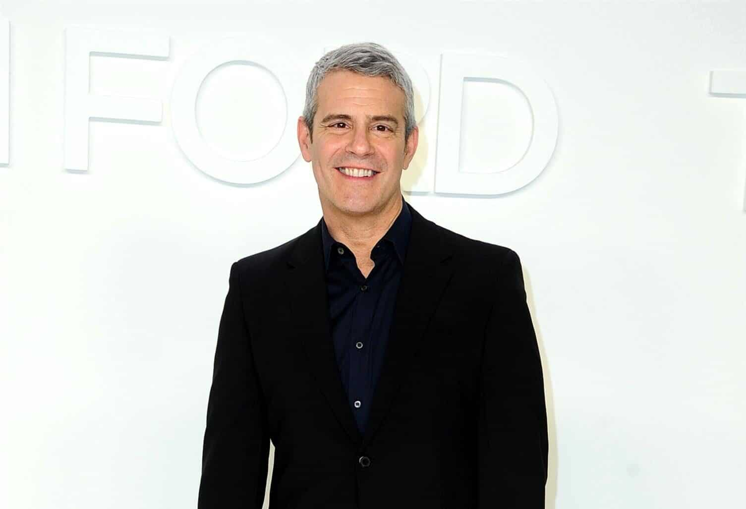 Andy Cohen Dishes on His Wildest Reality TV Moment, Reason He Would Never Do a Reality Show About His Life and What He Looks For in a Housewife
