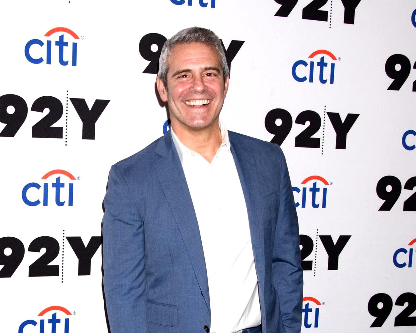 "Andy Cohen Reveals the ""Horrible"" Symptoms He's Experiencing From Coronavirus and Gives Update on Health, Confirms the Worst Part of the Illness is Being Away From Son Benjamin"