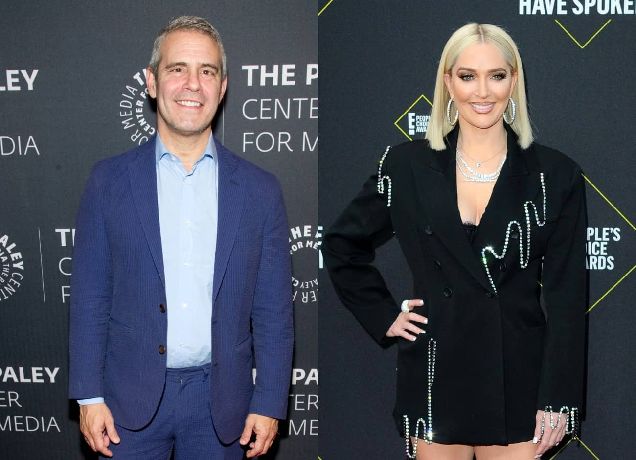 Andy Cohen Throws Major Shade at 'Chicago' Broadway Play and Its Cast! Find Out What He's Saying as He Praises RHOBH Star Erika Jayne's Performance