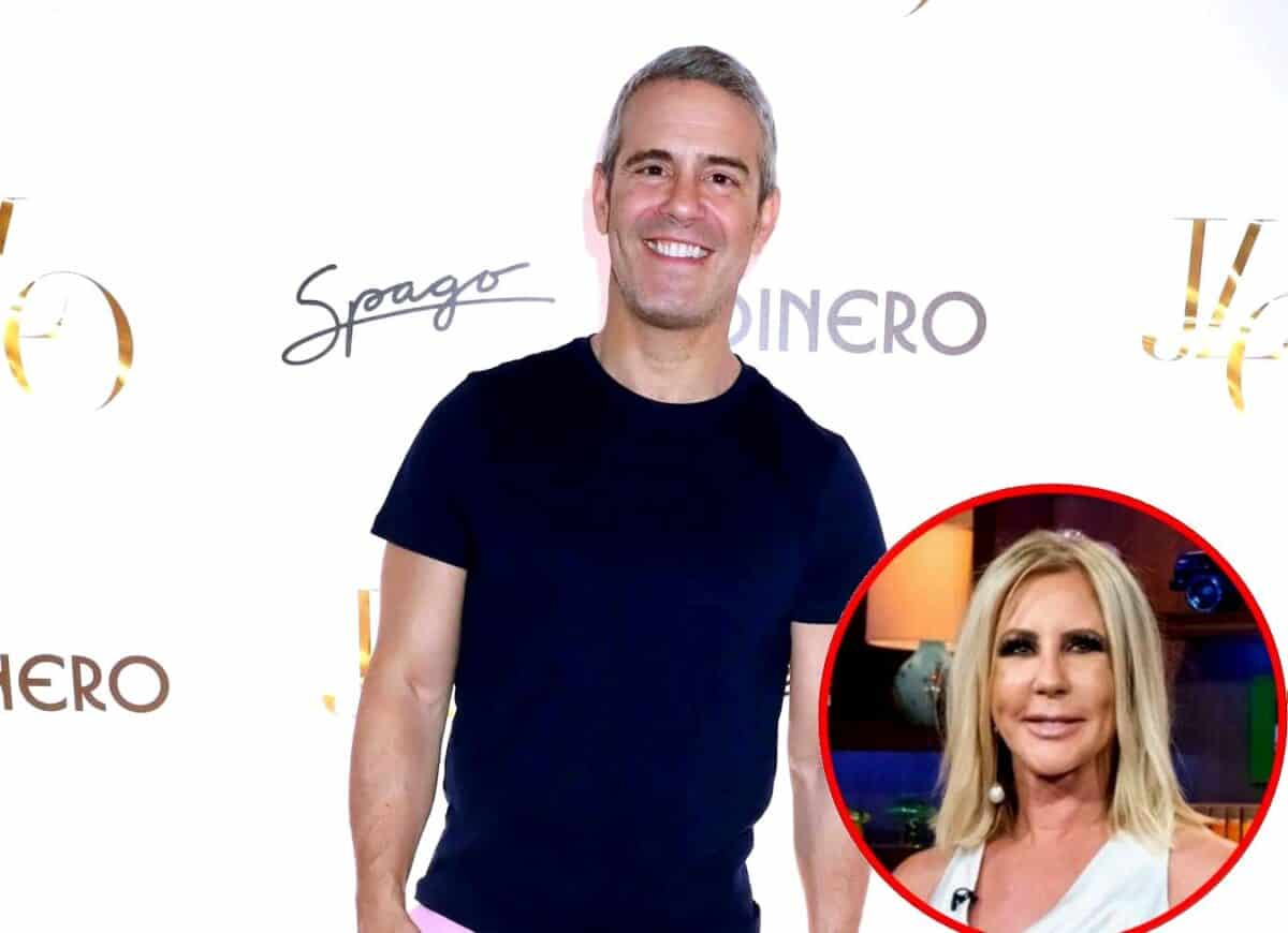 Andy Cohen Reveals the 'Bad' Complaint Viewers Had About Him as a Host and Explains RHOC Reunion Drama With Vicki Gunvalson, Plus Biggest Misconception About Reality TV