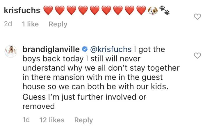 RHOBH Brandi Glanville Wanted to Stay at Eddie Cibrian and Leann Rimes' Mansion Amid Quarantine