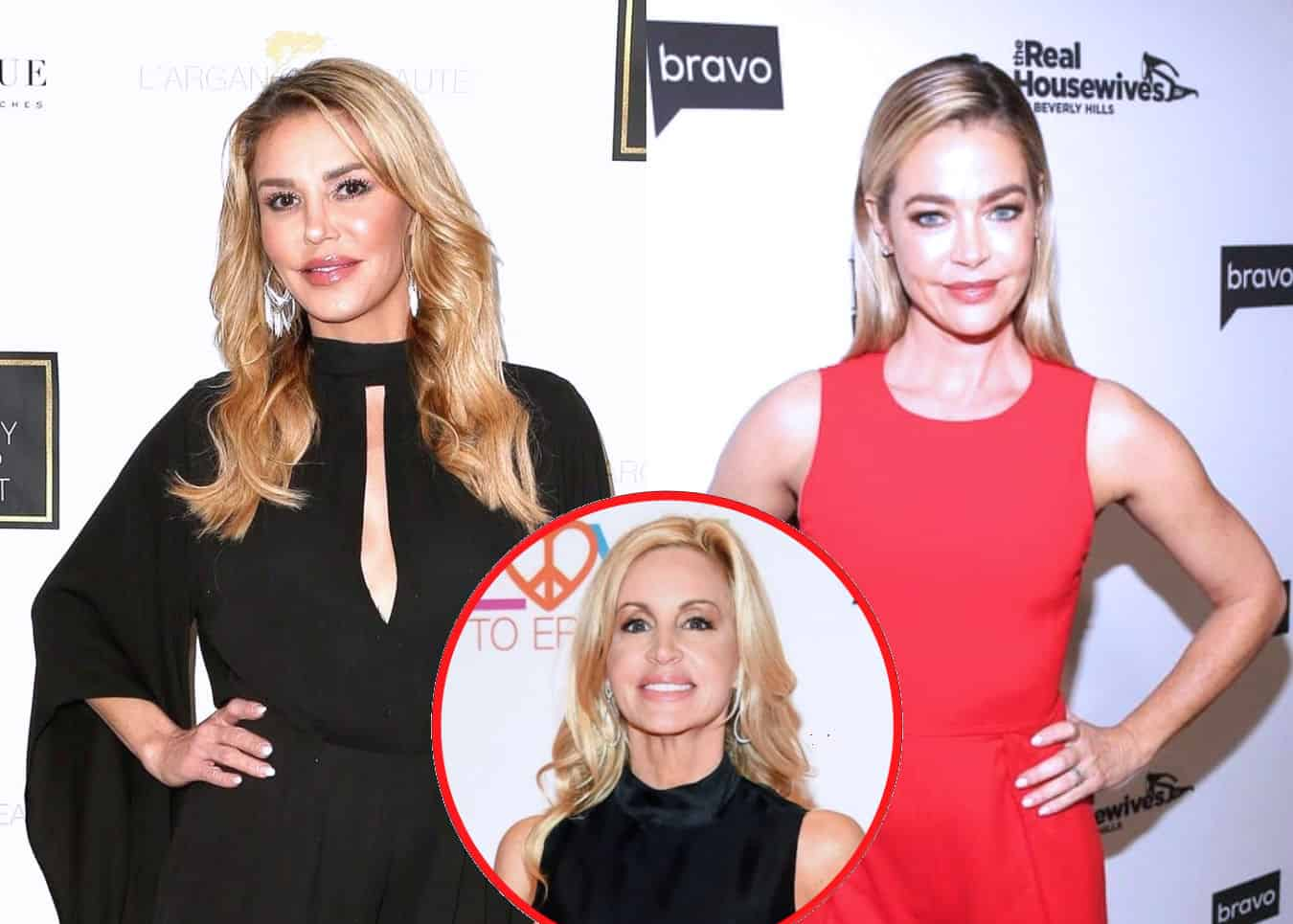 "Brandi Glanville Reveals Denise Richards Sent Her a Cease and Desist Letter, Admits the RHOBH Has a ""Lack of Authenticity"" and Shades Camille Grammer"
