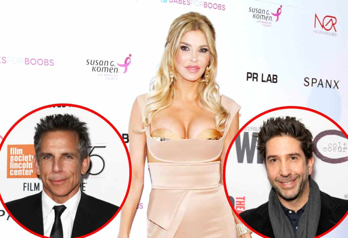 RHOBH Star Brandi Glanville Dishes on Hooking Up With Ben Stiller and David Schwimmer, Talks Dating Matt LeBlanc