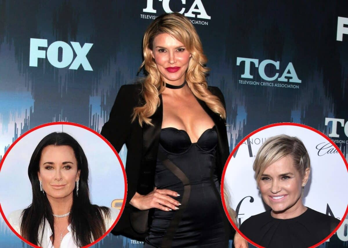 Brandi Glanville Shares Updates on Her Relationships With Kyle Richards and Yolanda Hadid, Reveals Her Least Favorite Reality Show, and Teases RHOBH Trailer!