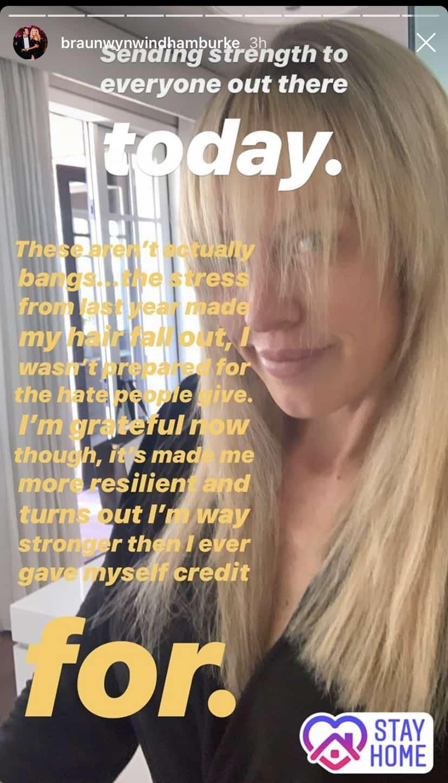 Braunwyn Windham-Burke Reveals Hair Loss, Says Trolls Made Her Hair Fall Out During RHOC Season 14