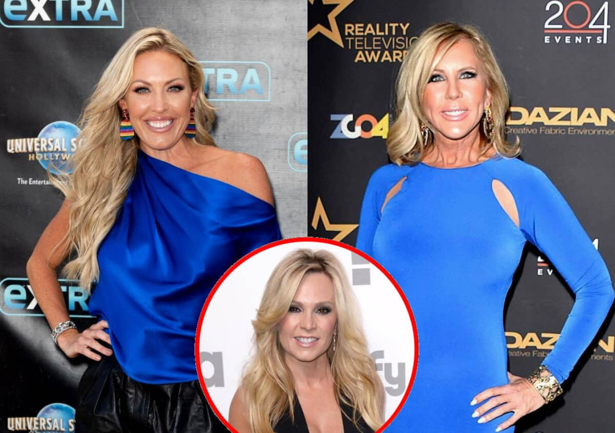 "Braunwyn Windham-Burke Throws Shade at Vicki Gunvalson! Suggests 'RHOC' is More ""Real"" Since the Exits of Vicki and Tamra Judge"