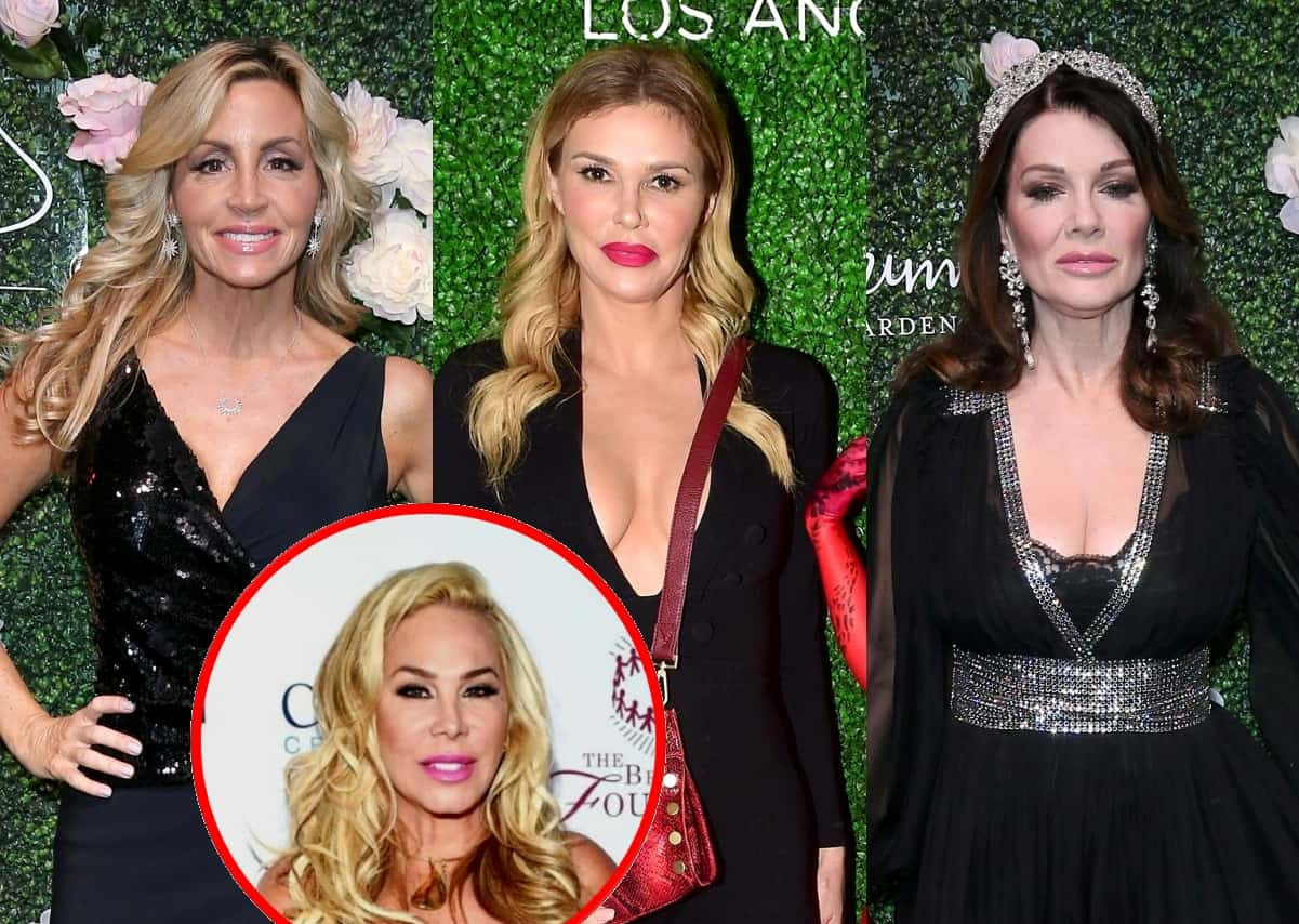 "RHOBH's Camille Grammer Accuses Brandi Glanville of Lying About Claim That She and Adrienne Maloof Knew of Plot to ""Take Down"" Lisa Vanderpump"