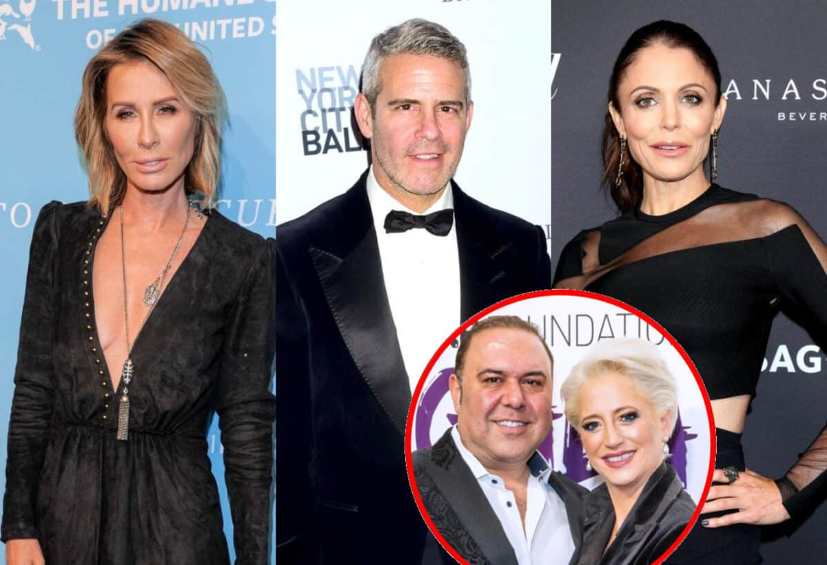Ex RHONY Star Carole Radziwill Explains Why Andy Cohen Was Upset With Bethenny Frankel and Where She Stands With Andy, Dishes on Dorinda Medley's Split From John Mahdessian