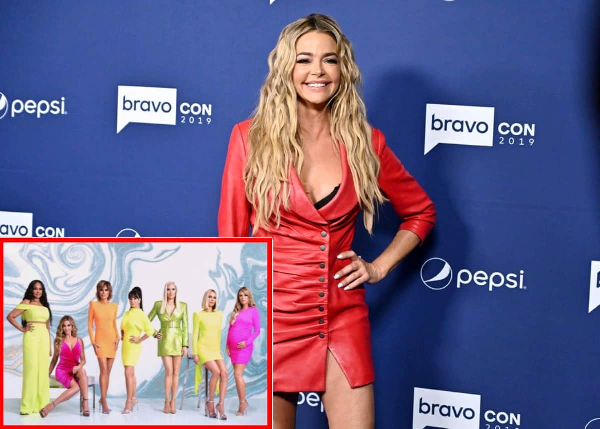 "Denise Richards Calls Out the RHOBH Cast for Starting Rumors About Her, Reveals if She'll Attend the Reunion as She Begins to ""Relive the Nightmare"" of New Season"
