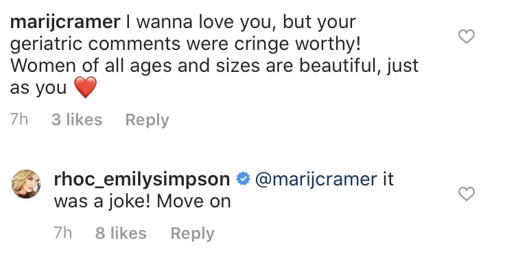 Emily Simpson Responds to Backlash Over Geriatric Comments on RHOC
