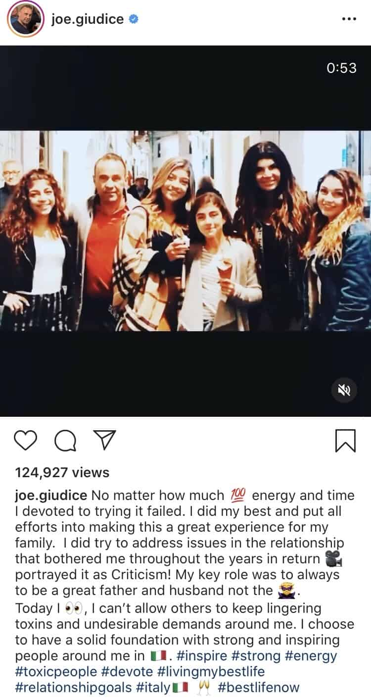 Joe Giudice Claims RHONJ Producers Edited Him as a Villain