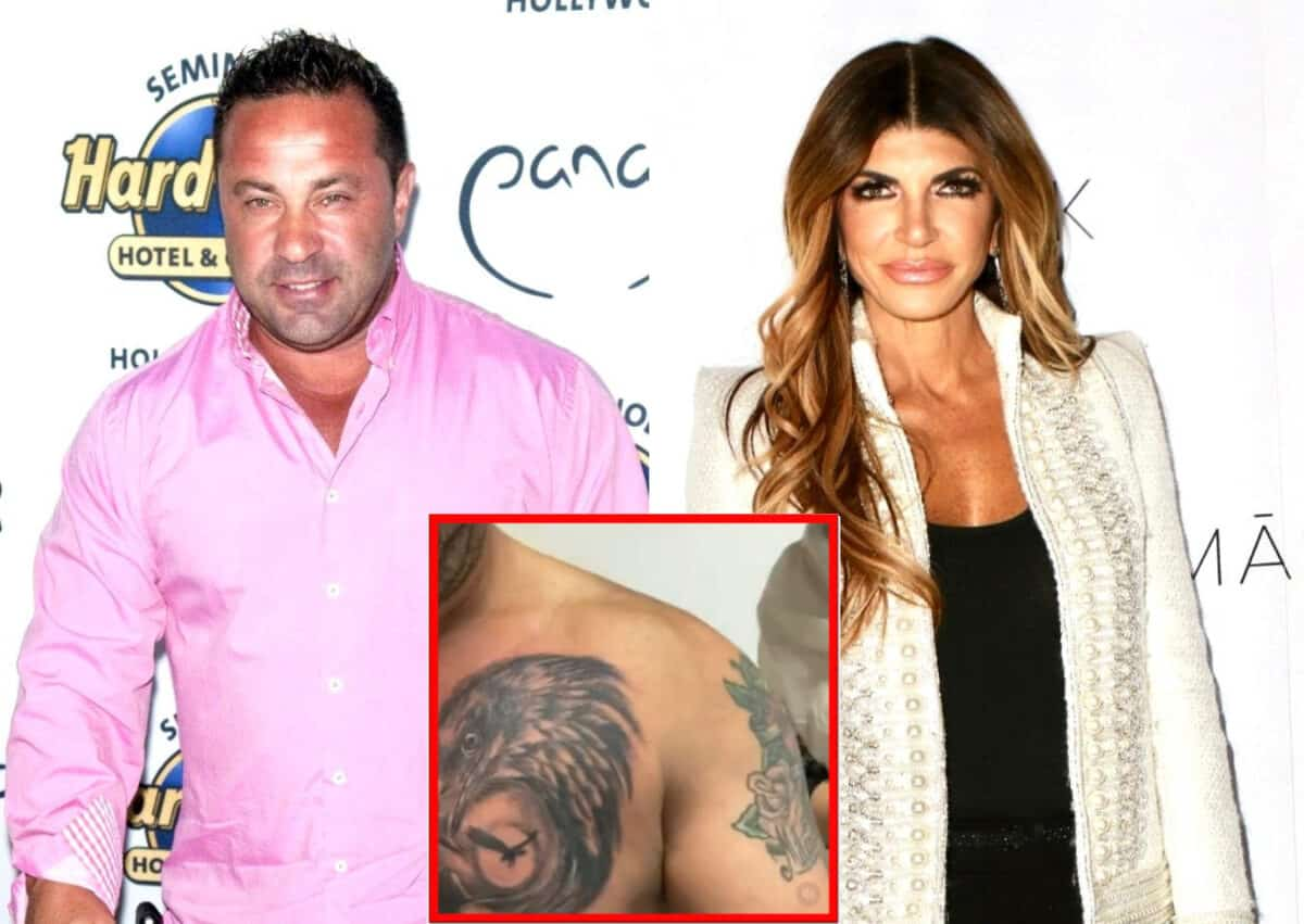 PHOTO: RHONJ's Joe Giudice Honors Daughters With New Chest Tattoo as Gia Reacts, Plus He Responds to Teresa's Reunion Look With Flirty Comment