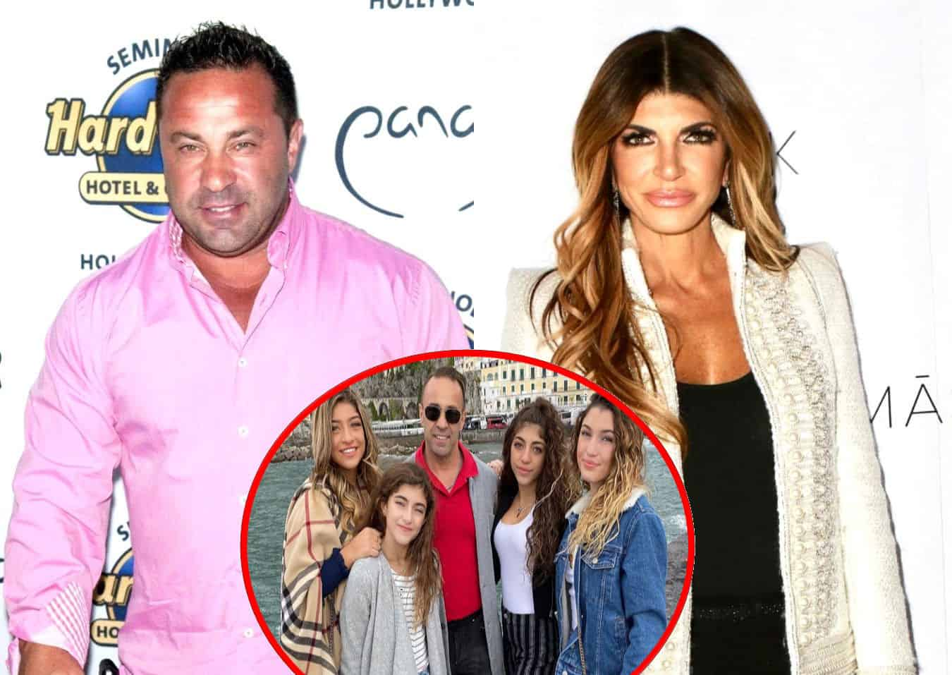 PHOTO: RHONJ's Joe Giudice Honors Daughters With New Chest Tattoo as Gia Teases Her Own, Plus He Responds to Teresa's Reunion Look With Flirty Comment