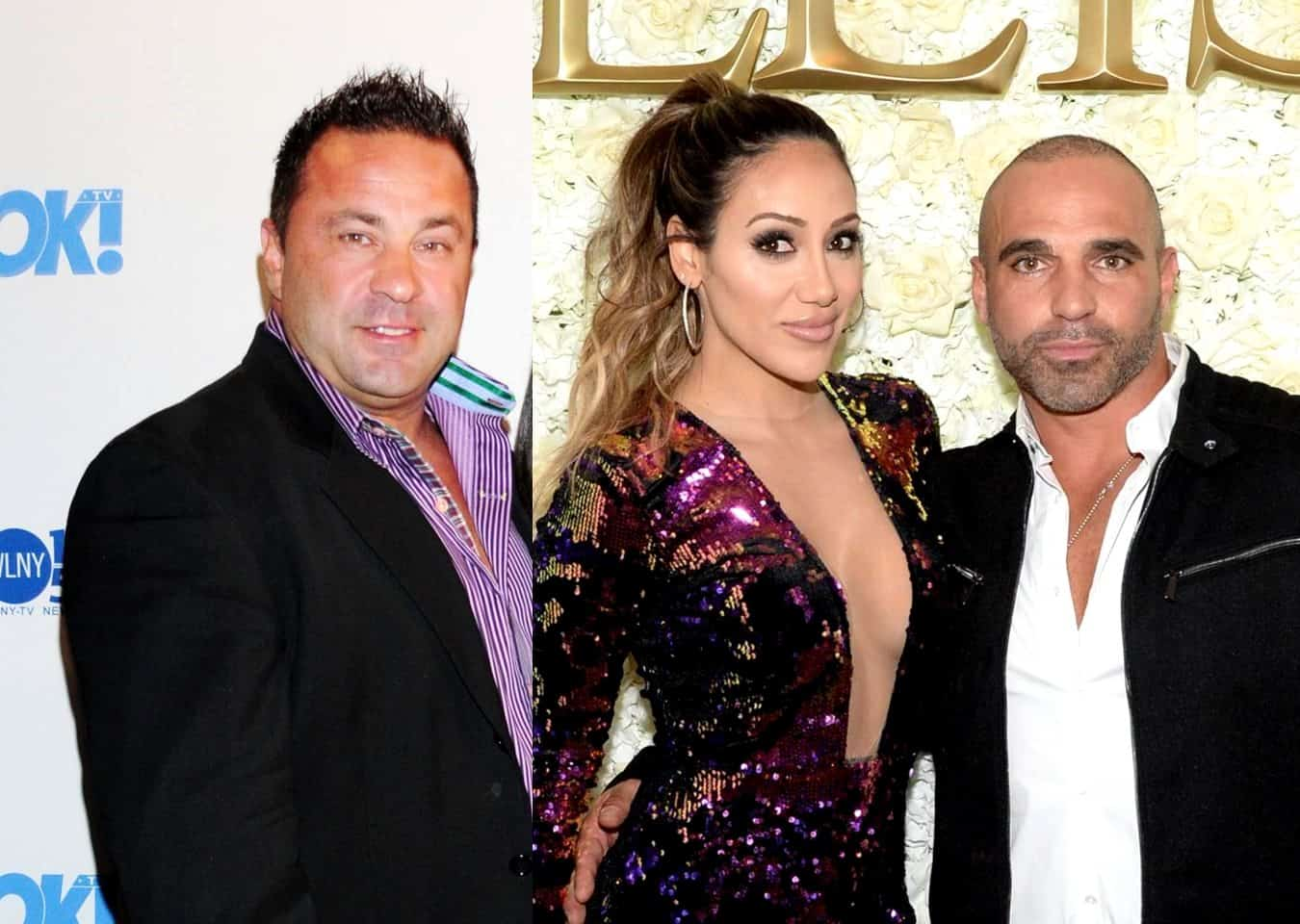 "Joe Giudice Slams ""Ignorant"" Melissa And Joe Gorga And Says The RHONJ Couple Should ""Kiss His Butt"""
