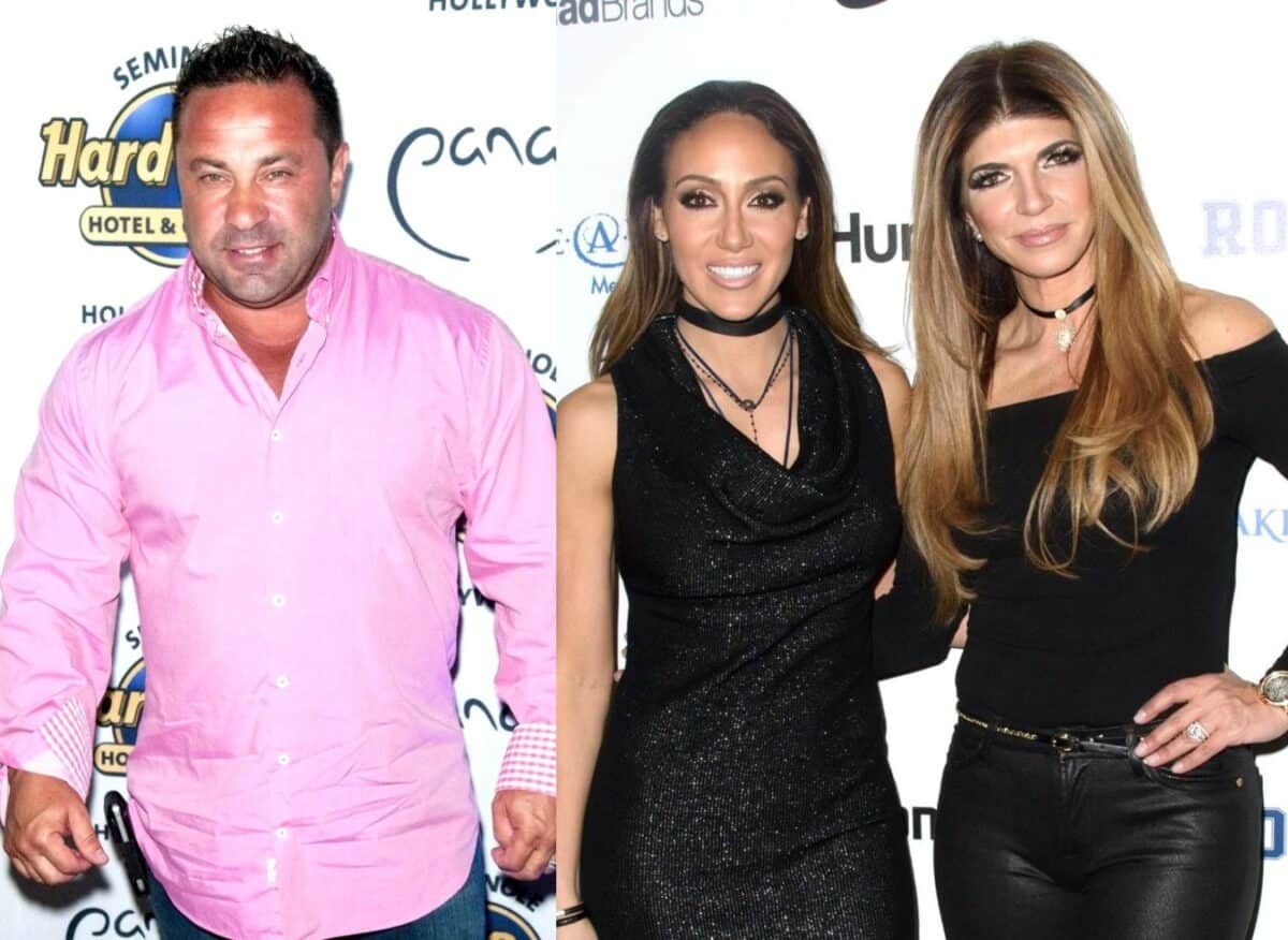 "RHONJ's Joe Giudice Fires Back After Melissa Gorga Claims He Wasn't Much Nicer to Teresa Off-Camera, See His Deleted Instagram Post About People Who ""Live in Glass Houses"""