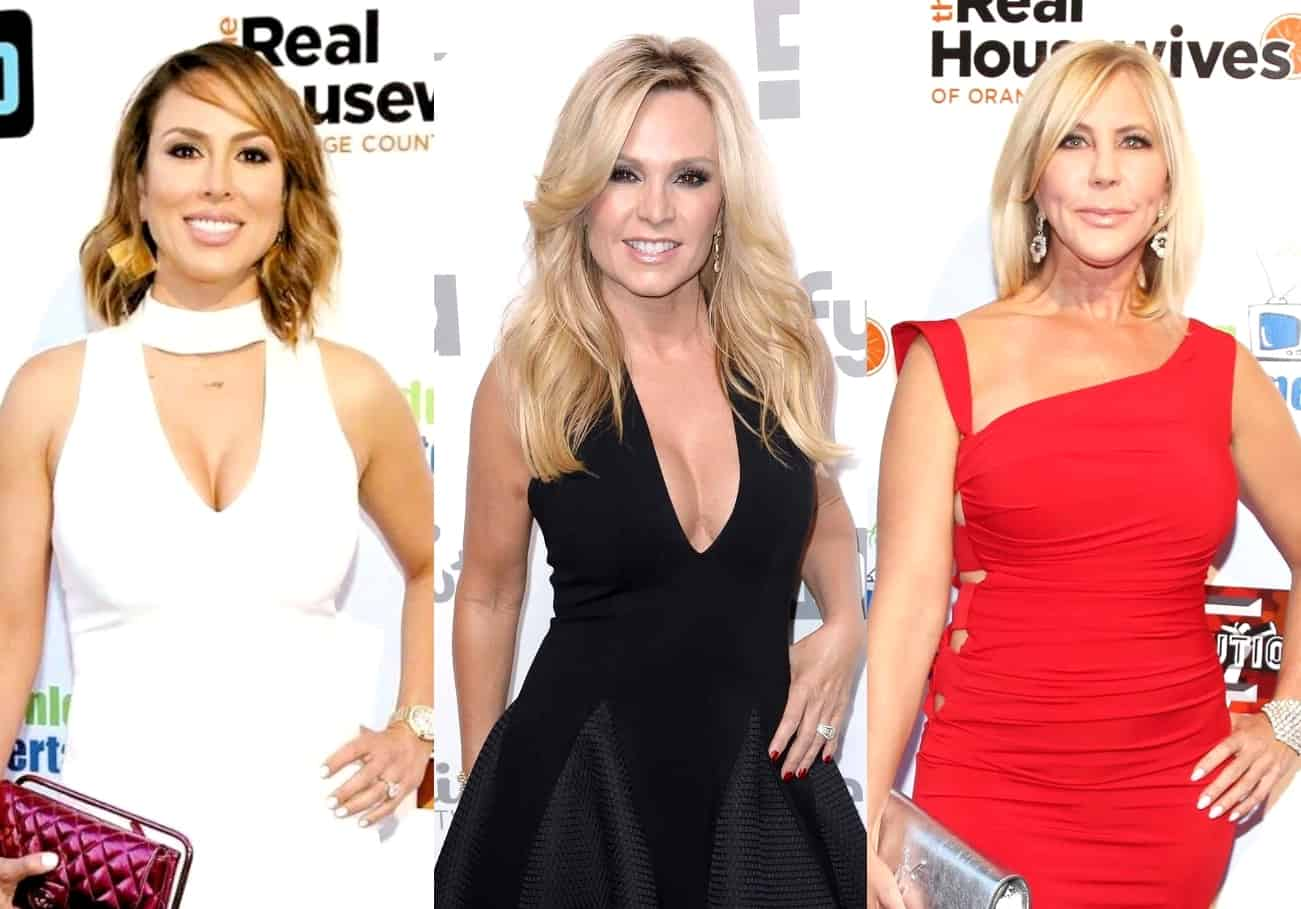 "Kelly Dodd Reacts to News of Tamra Judge Negotiating a Return to RHOC, Addresses ""Spinoff"" Rumors About Tamra and Vicki Gunvalson"
