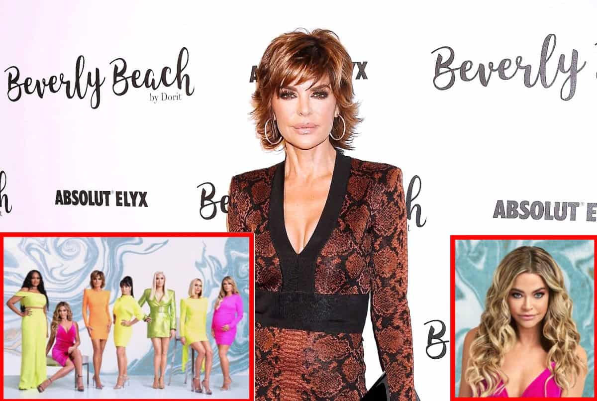 "Lisa Rinna Addresses the RHOBH Cast's Drama with Denise Richards, Says Everyone ""Took a Hit"" This Season and Promises Fans Can Expect a More 'Authentic' Show"
