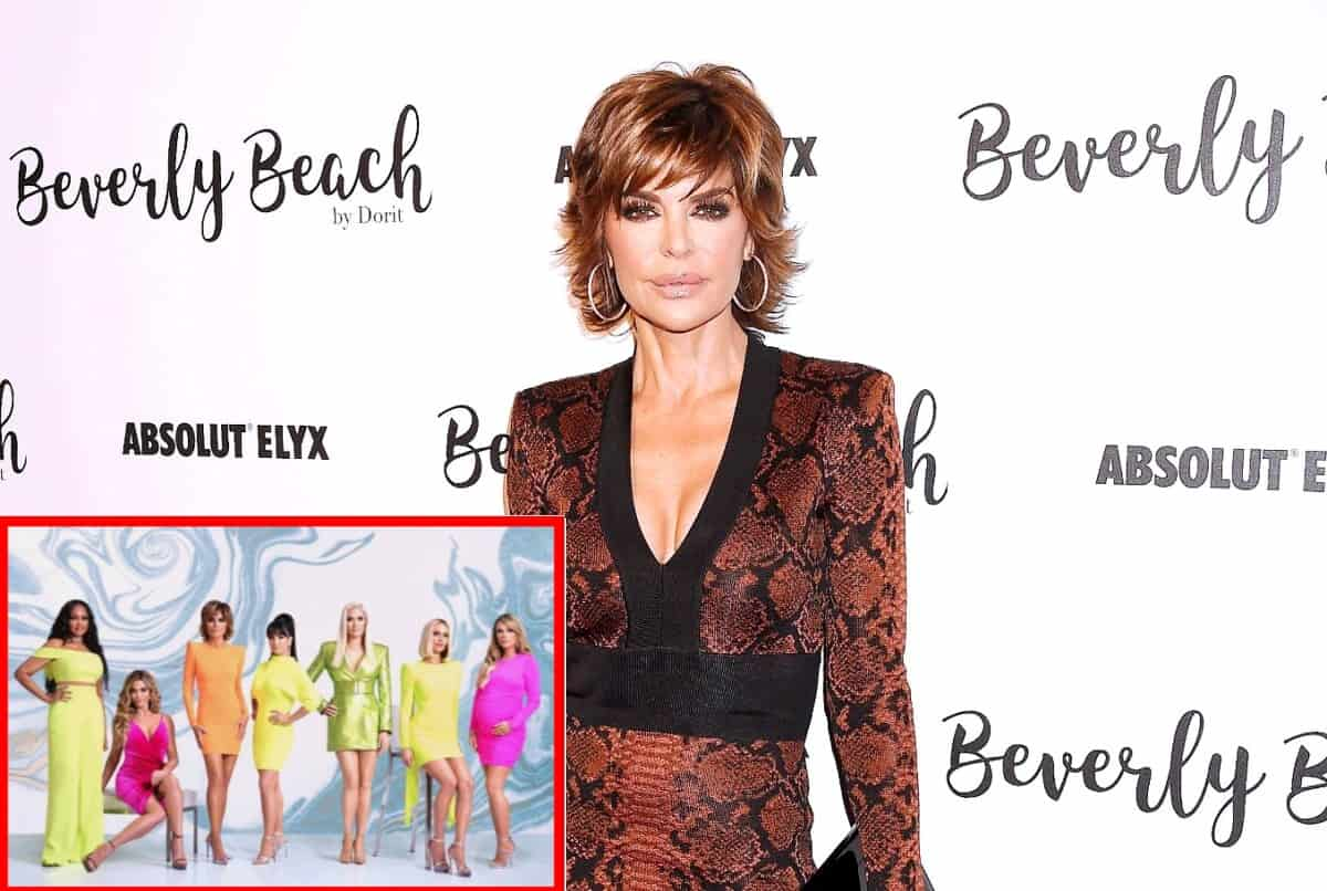 "Lisa Rinna Suggests Bravo Encourages RHOBH Cast to Fight and Looks Over Fun Moments, Tells Fans to Demand They Bring ""Joy"" and ""Glamour"" Back to Show"