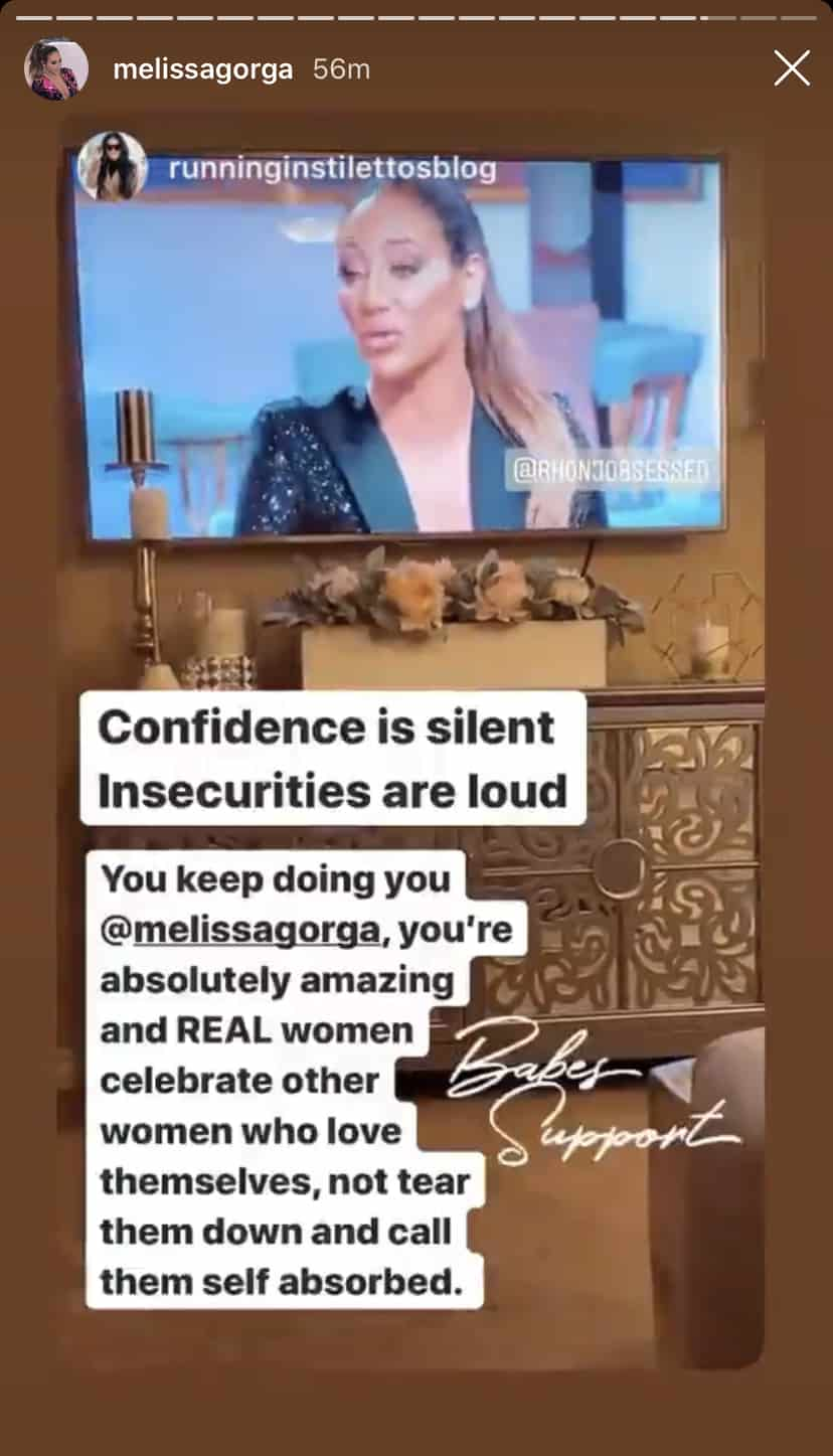 RHONJ Melissa Gorga Suggests Jennifer Aydin is Insecure and Not a Real Woman