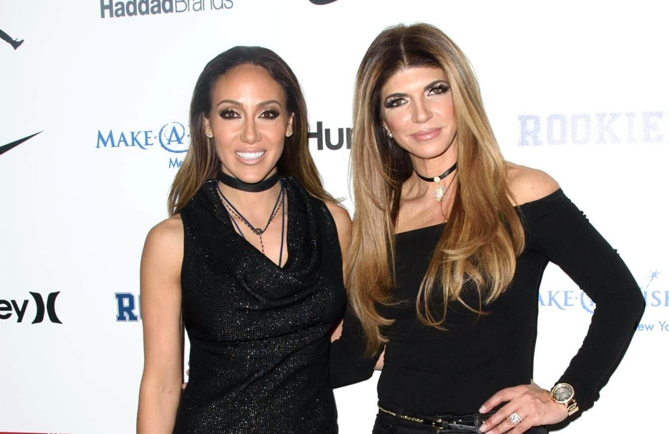 Is A Feud Brewing Between Teresa Giudice And Melissa Gorga Again Melissa Is Absent From Teresa S Friends Post With Rhonj Cast As She Prepares For Filming Reality Blurb