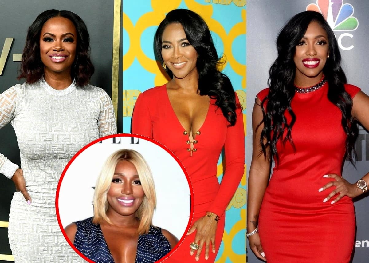 RHOA Stars Kandi Burruss and Kenya Moore Suggest Nene and Porsha Making Up is 'Fake,' Kenya Says She Has Receipts as Nene Responds!