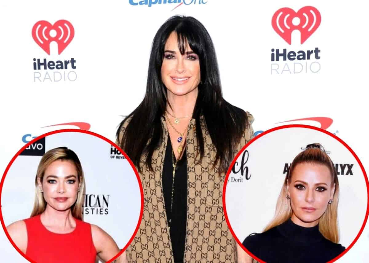 RHOBH's Kyle Richards Fires Back at Fan Who Accuses Her of Cutting Denise Richards Out of Picture, Plus Find Out if She's On Speaking Terms with Dorit Kemsley