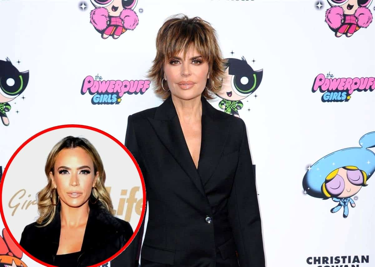 "RHOBH's Lisa Rinna Reveals Which Cast Member is the ""Biggest Pot-Stirrer"" of New Season and Says Teddi Mellencamp Spills ""Most Shocking Tea"" Plus the ""Biggest Peacemaker"""