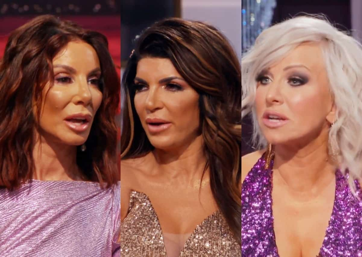 RHONJ Reunion Part Three Recap: Danielle and Teresa are Confronted by Margaret Over Hair Pull and Teresa's Marriage is Questioned