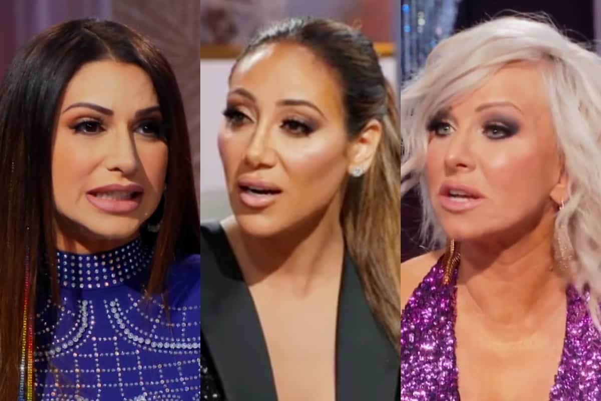 "RHONJ Reunion Recap Part One: Jennifer Accuses Melissa of Faking Baby Storyline as Margaret Tells Jennifer to ""Shut It"""