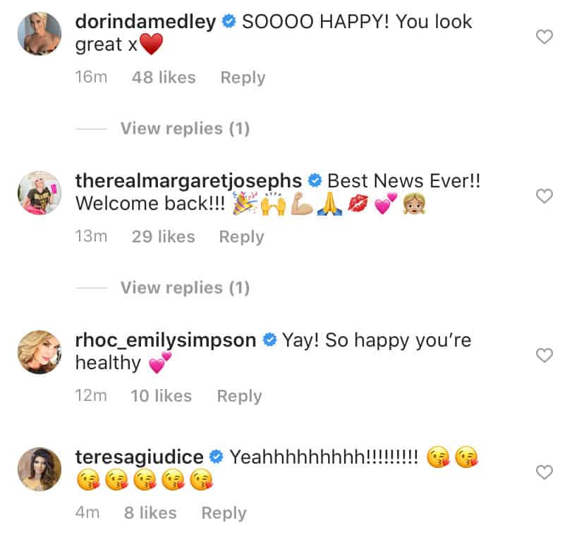 Real Housewives React to Andy Cohen Recovering From COVID-19