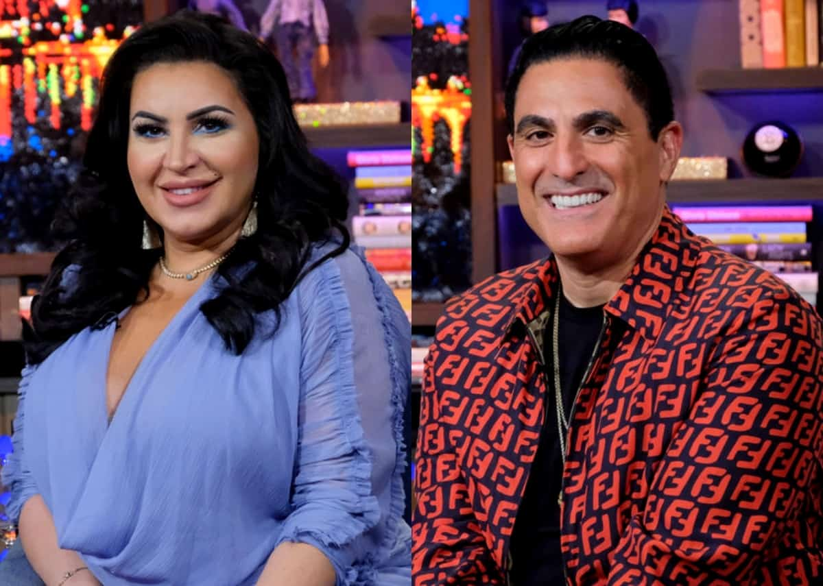 "Shahs of Sunset's MJ Javid Slams ""Morally Reprehensible"" Reza Farahan After His Abortion Bombshell, Plus Reza Leaks New Text Messages From MJ Amid Their Feud"