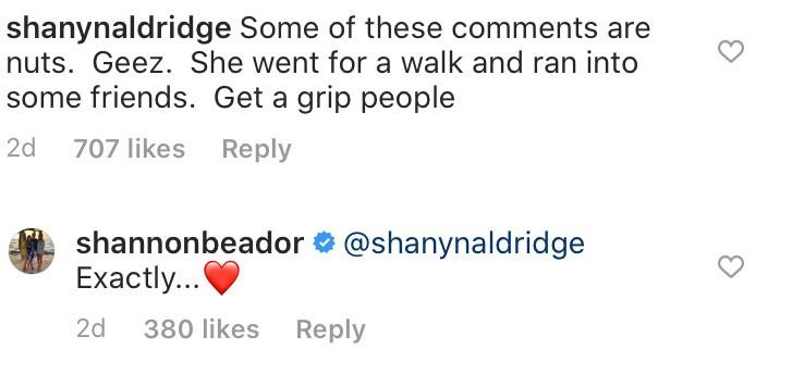 RHOC Shannon Beador Thinks Quarantine Critics Are Nuts
