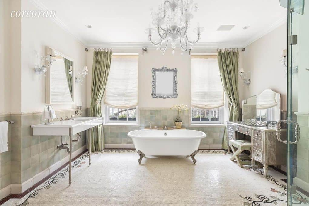 RHONY Sonja Morgan Townhouse Bathroom