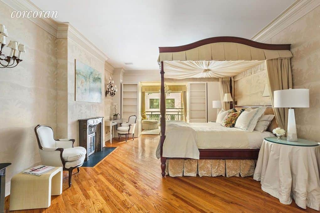 RHONY Sonja Morgan Townhouse Bedroom