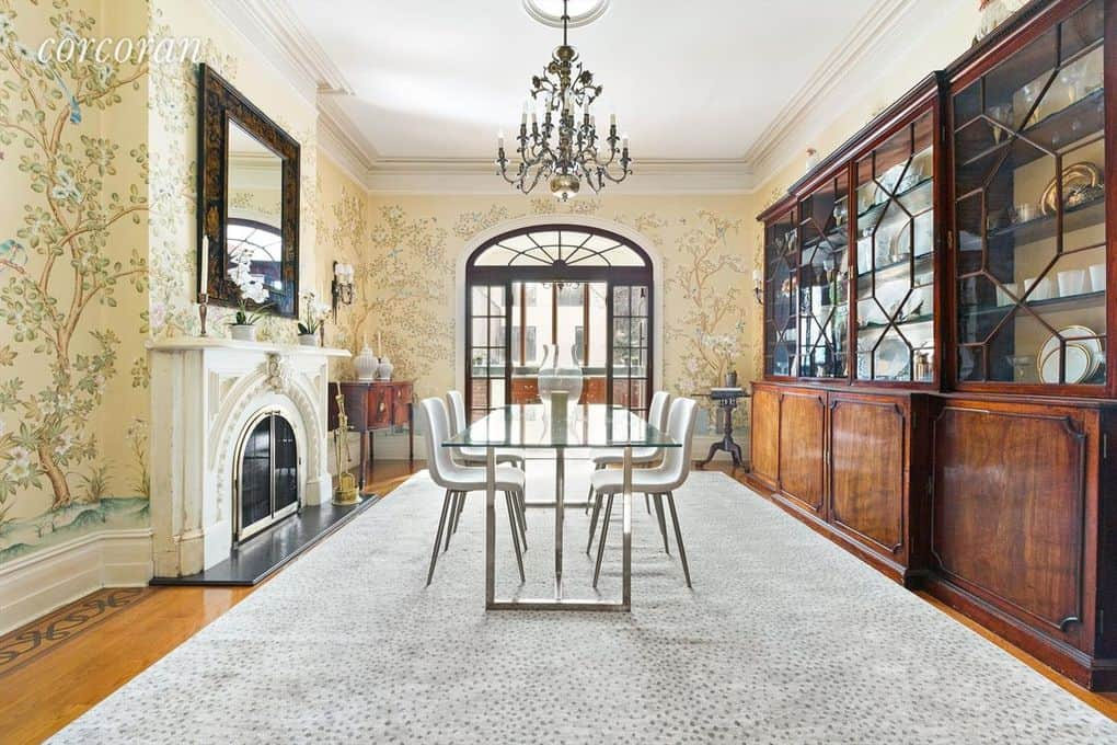 RHONY Sonja Morgan Townhouse Dining Room