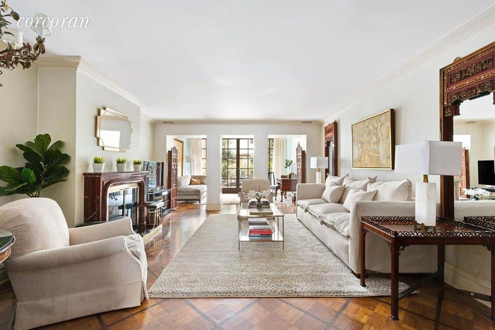 RHONY Sonja Morgan Townhouse Living Room