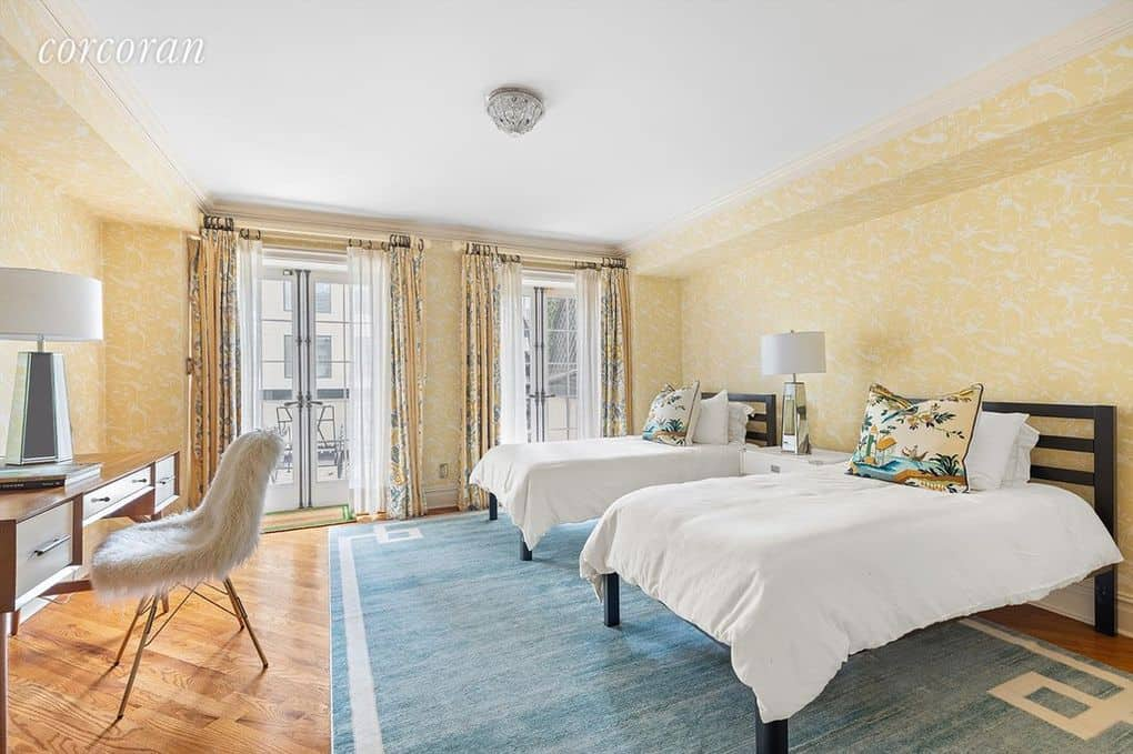 RHONY Sonja Morgan Townhouse Second Bedroom