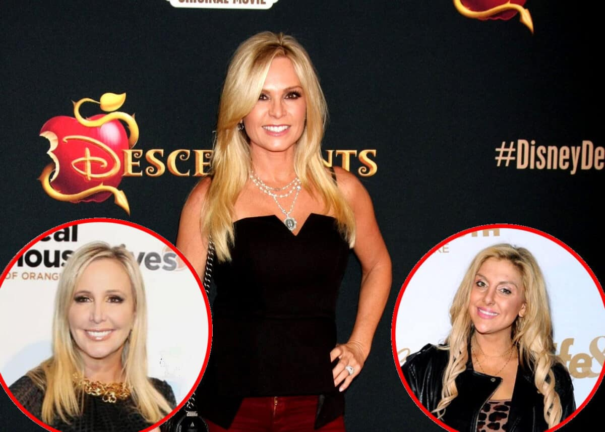 Tamra Judge Reveals Shannon Beador is Afraid of Getting Fired From RHOC, Explains How Bravo's Cutting Costs for Shows and Dishes on Gina Kirschenheiter's New Home, Plus the Best Part of Not Filming