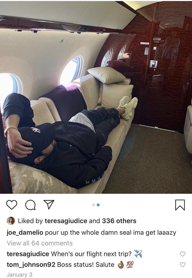 RHONJ Teresa Giudice Asks Joe D'Amelio About Their Next Trip