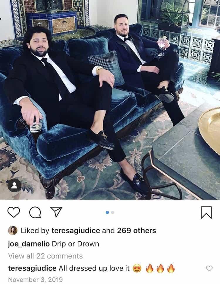 RHONJ Teresa Giudice Flirts With Joe D'Amelio on Instagram