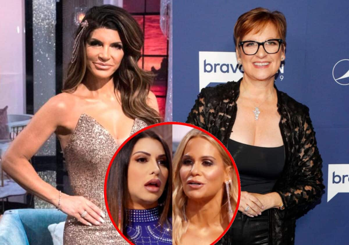 "RHONJ Reunion Part Two Recap: Teresa Slams Caroline as a ""Sh-tty Person"" and Dishes on Reuniting With Her as Jennifer Feuds With Jackie!"