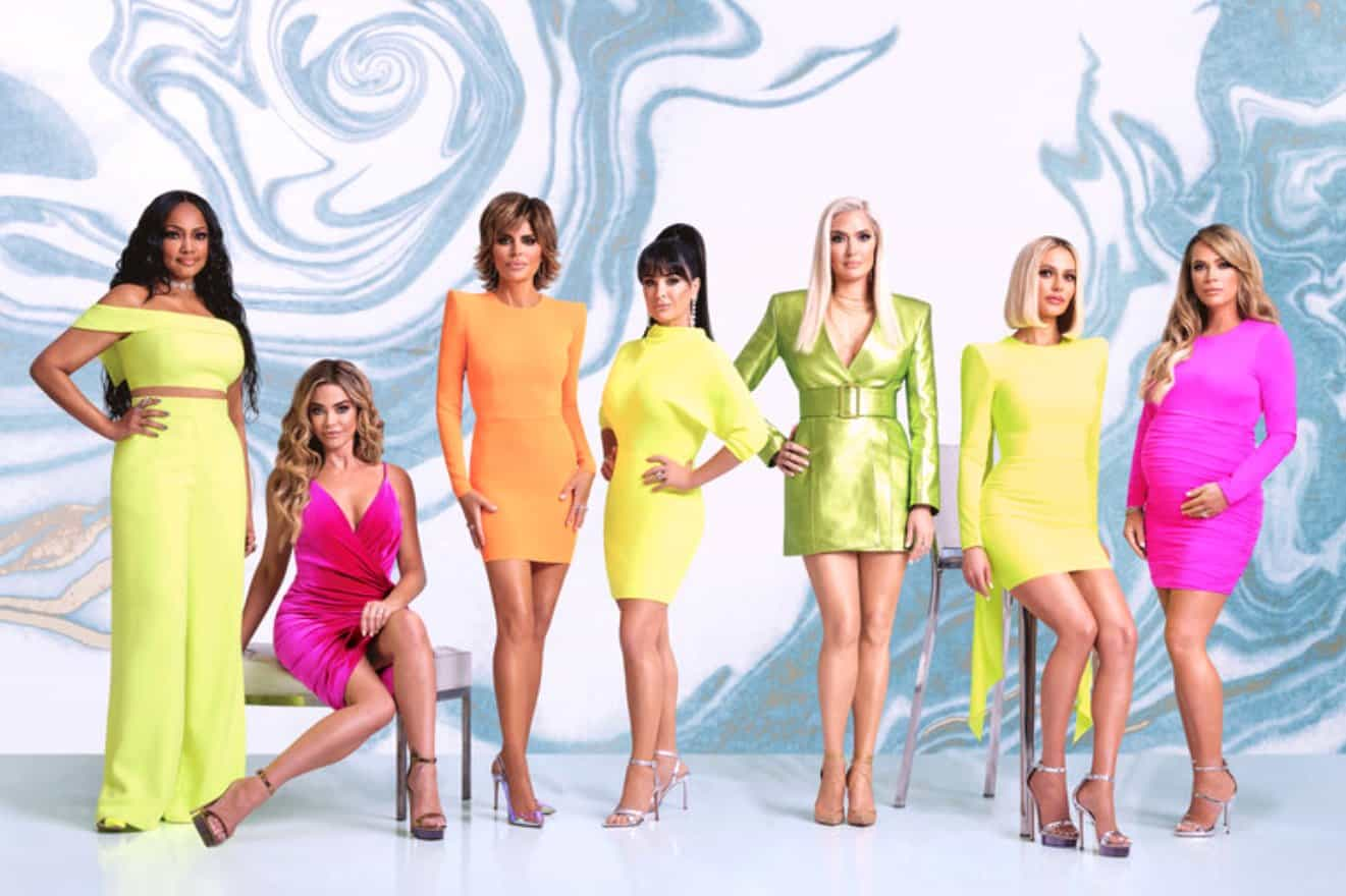 PHOTOS: The RHOBH Cast Shows Off Their Sexy Opening Sequence Looks, Find Out Who's Missing And Take Our Poll For Best Dressed!