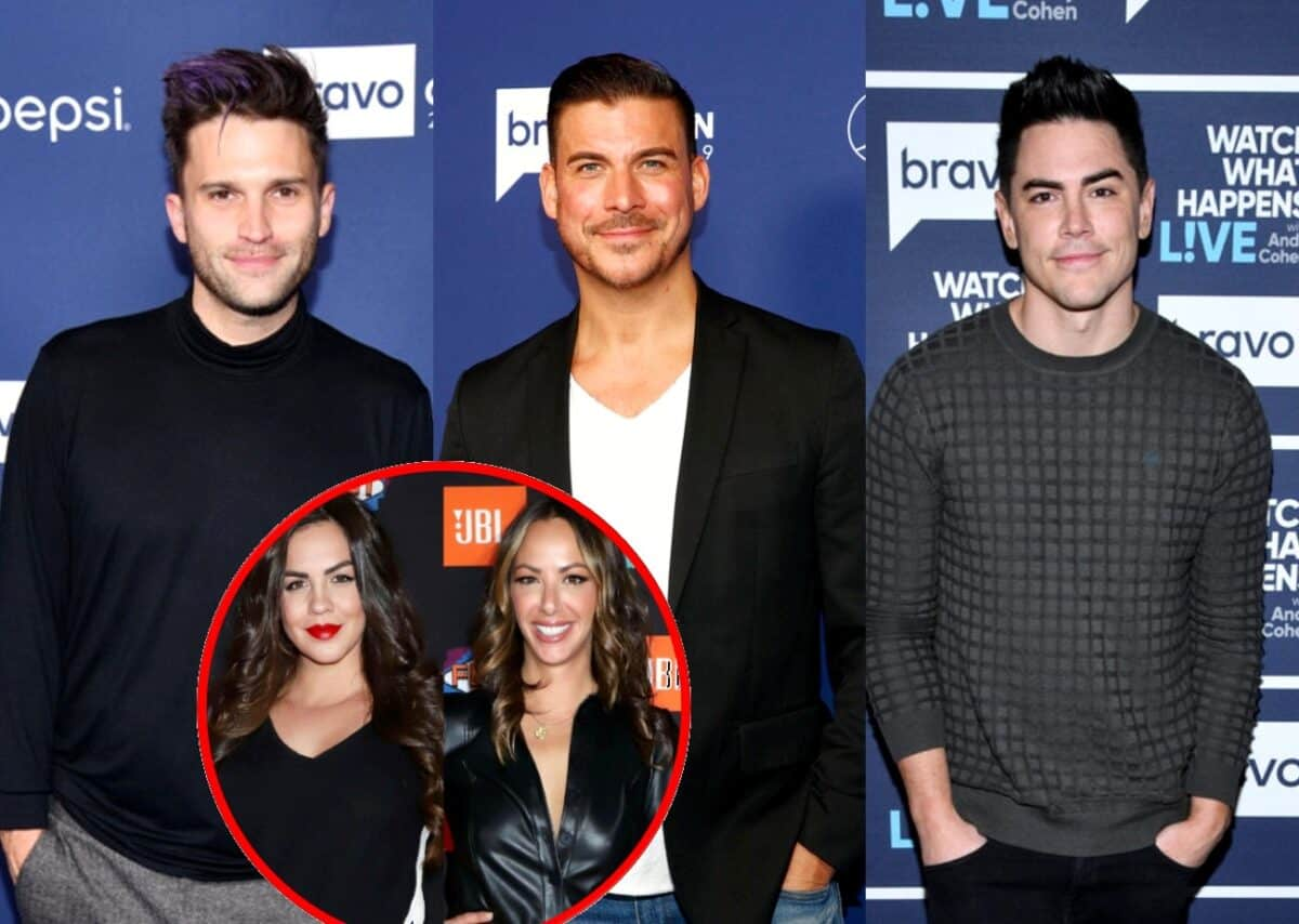Vanderpump Rules' Tom Schwartz Reveals Why He's No Longer on Jax Taylor's Side Amid His Feud With Tom Sandoval, Offers an Update on Katie Maloney and Kristen Doute's Feud and Teases Second Wedding