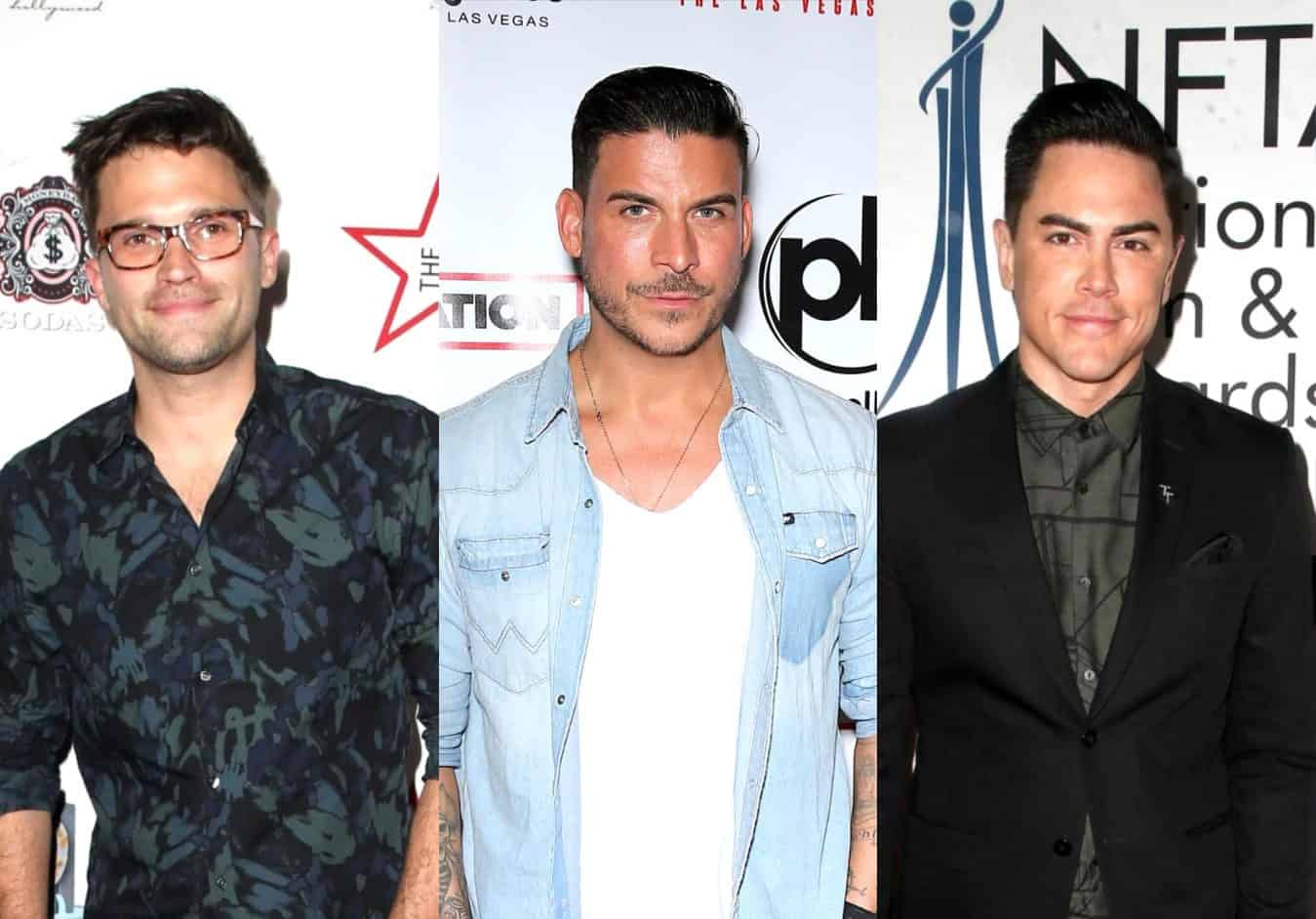 "Vanderpump Rules' Tom Schwartz Reveals if He's Taken a Side in Jax Taylor and Tom Sandoval's Feud and Thinks They've ""Outgrown"" One Another as Sandoval Accuses Jax of Being ""Unreasonable"""