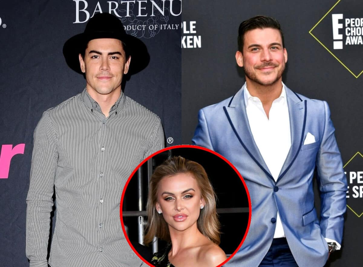 """Vanderpump Rules' Tom Sandoval Says Jax Taylor Does Something 'Catastrophically Bad' That Will Air Later This Season and Slams Him for Running a """"Smear Campaign"""" Against Him, Suggests Lala Kent is 'Two-Faced'"""