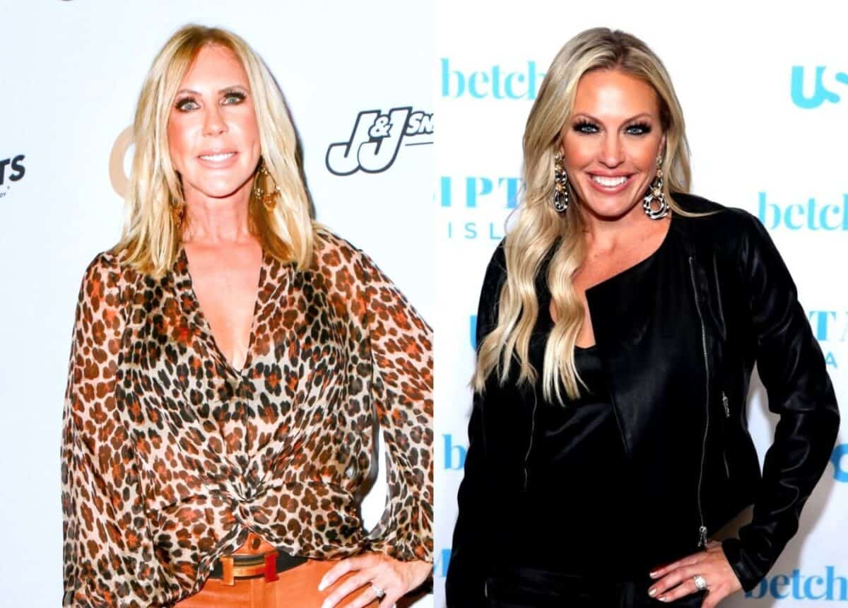 "EXCLUSIVE: RHOC Star Vicki Gunvalson Slams ""Thirsty"" Braunwyn Windham-Burke for Suggesting She Made Show 'Inauthentic' and Issues Her a Warning, Plus Braunwyn Claps Back at Fan Over Hair Loss"