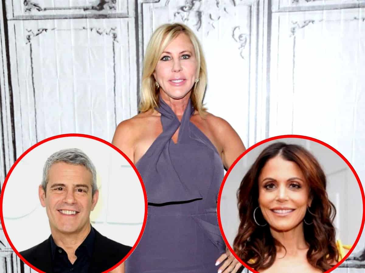 "Vicki Gunvalson Reveals the Real Reason for RHOC Reunion Fight With Andy Cohen Was Over ""Money"" and Her Biggest Regret of the Show, Plus What Bethenny Frankel Told Her After Her Exit"