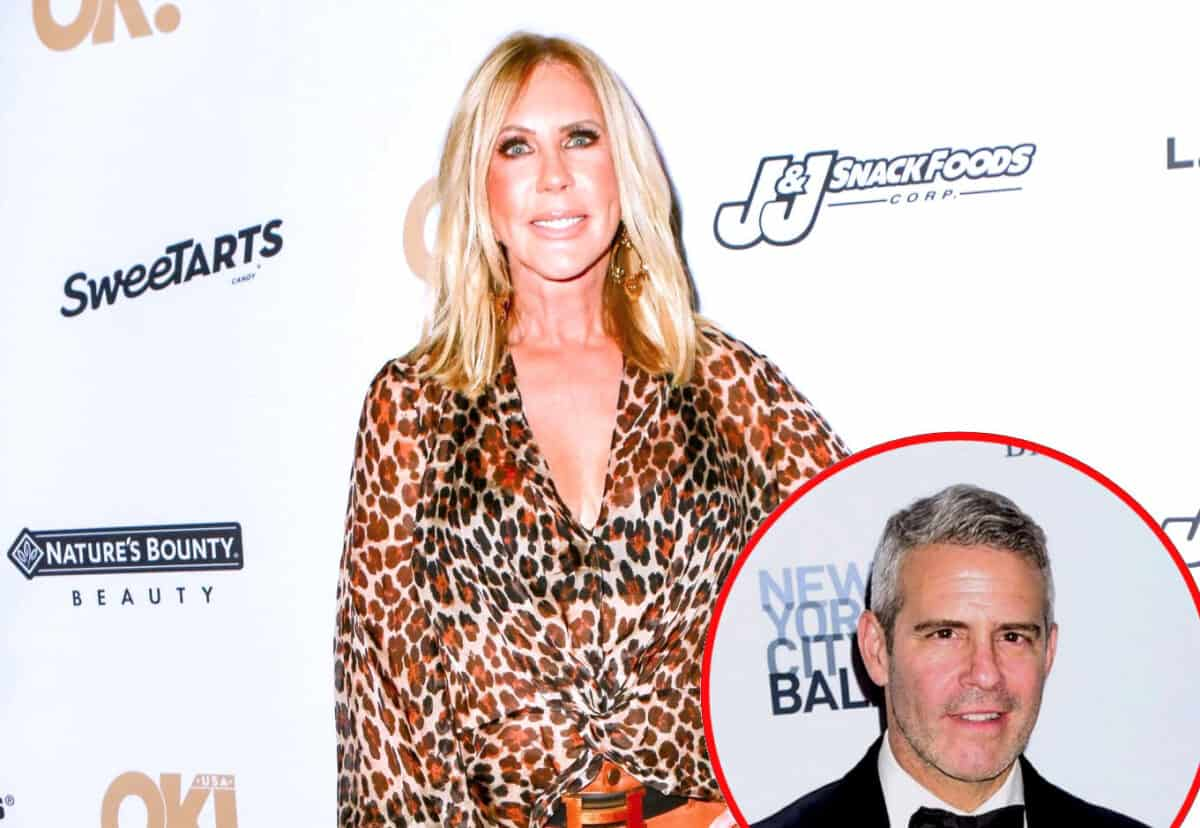 RHOC's Vicki Gunvalson Confirms Bravo Approached Her With a New Show! Reveals What Andy Cohen Told Her About Firing, and Admits She Thought Wedding Would Keep Her on Show