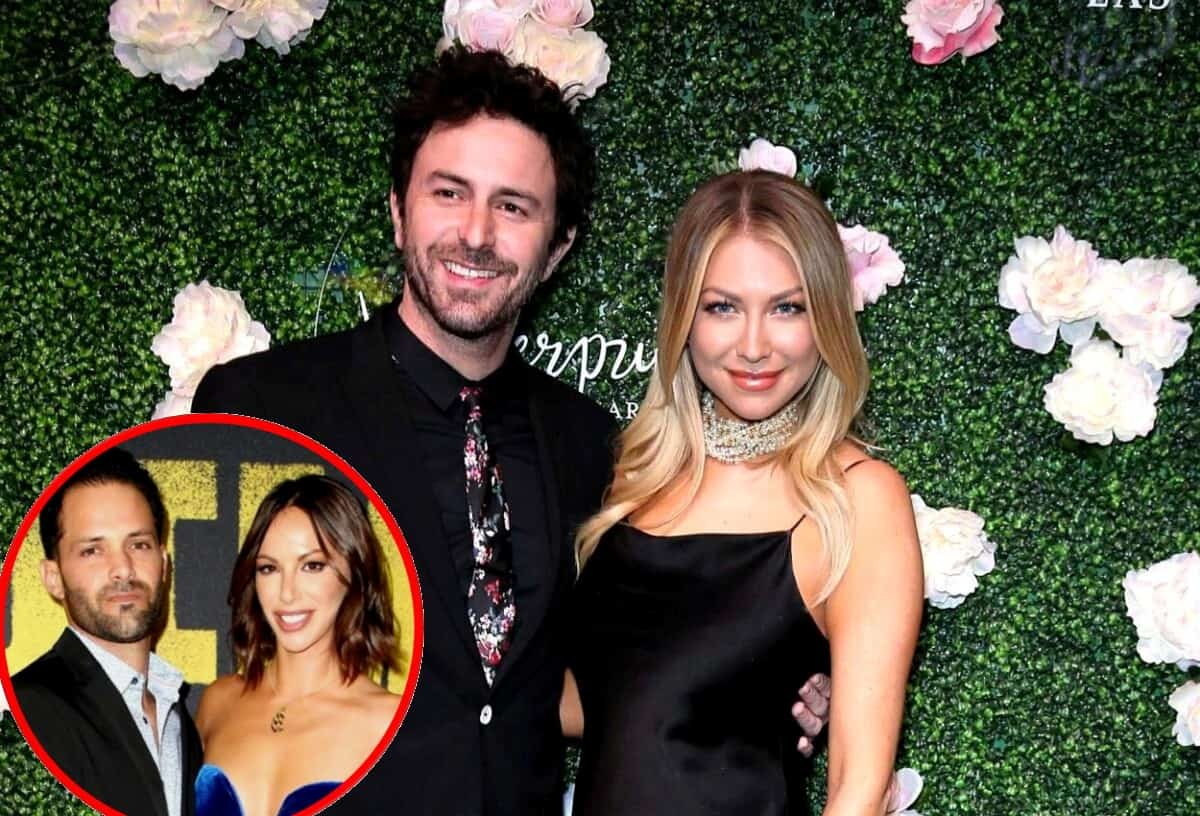"""Vanderpump Rules Stars Stassi Schroeder and Beau Clark Slam Brian Carter's """"F--ked Up"""" Text Message on Their Engagement Day, Plus They Give a Wedding Update and Share if Kristen Doute is Invited"""