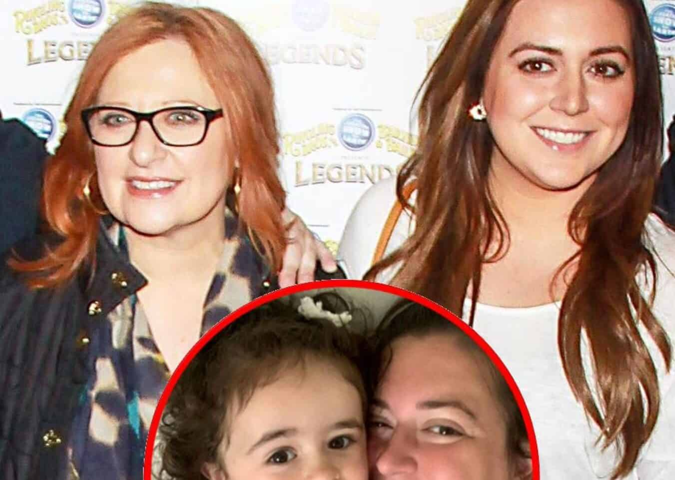"""Ex RHONJ Star Lauren Manzo Announces She Will No Longer Be Sharing Photos of Daughter Markie on Instagram After Receiving """"Insane"""" and """"Mean"""" Comments as Caroline Manzo Also Claps Back at Followers"""